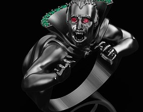 Dracula Ring 3D print model