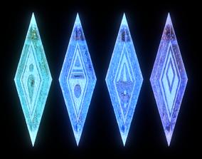 3D model Frozen II elemental gems