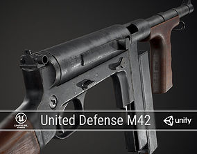 3D model PBR United Defense M42