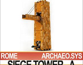 Roman Legionary Siege Tower A 3D