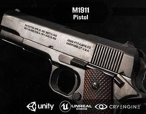 M1911 pisol 3D asset