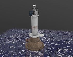 3D asset Light House Sudzhukskiy