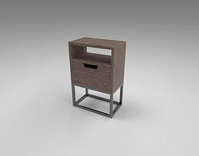 3D model Modern bedside table 1