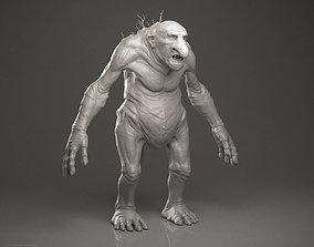 3D model Troll - Highpoly Sculpture