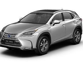 3D model 2015 Lexus NX300h