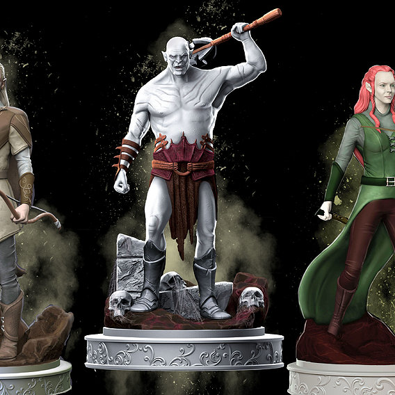 Middle Earth  Collectibles Fan Art
