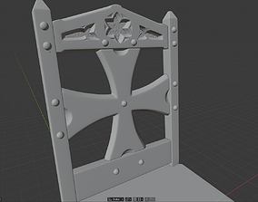 3D printable model Gothic Chair