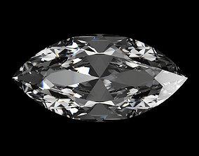 3D model Diamond Marquise