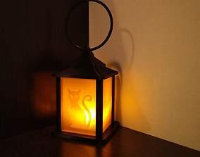 3D printable model lamp halloween