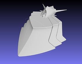 Sield Hero Curse Armor Chestplate 3D print model