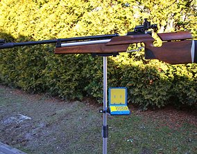 3D printable model Air rifle Shooting Tripod Stand for 3