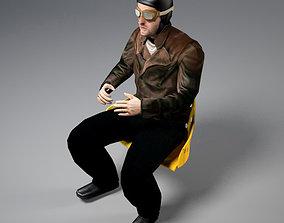 Pilot of World War I 3D