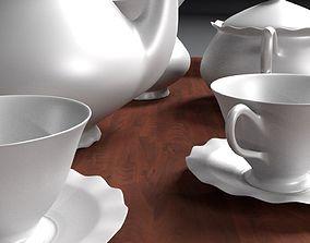 English Tea Set 3D