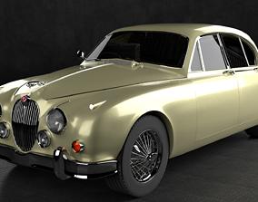 1959 Jaguar Mark 2 Saloon 3D model