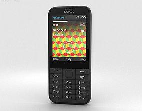 Nokia 225 Black 3D