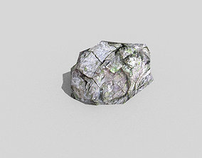low poly rock 3D asset realtime