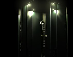 3D shower cubicle