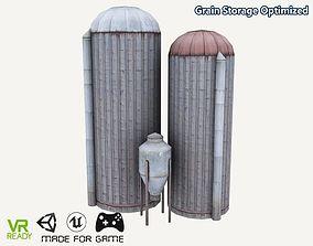 3D asset Grain Storage Optimized
