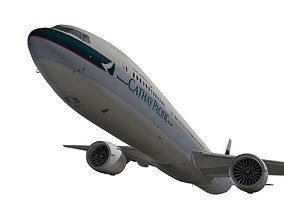 Boeing 777-300ER Cathay Pacific 3D