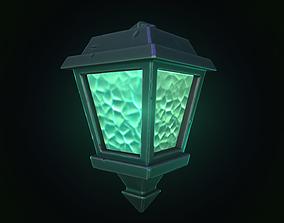 3D model Stylized lamp
