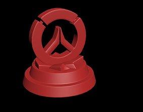 Overwatch logo 3D print model