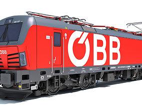 Siemens Vectron Locomotive Austrian Railways 3D