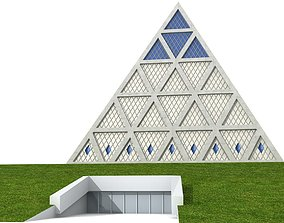 Palace of Peace and Reconciliation 3D model