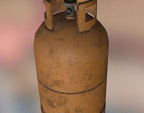 Gas bottle 3D asset
