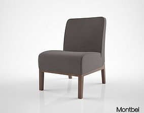 Montbel Opera Lounge Chair 3D