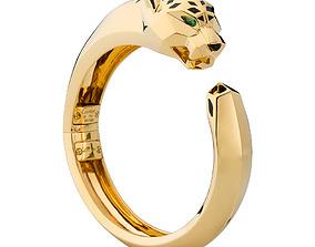 3D print model Panthere cartier bracelet