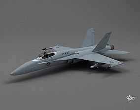 F-18 Hornet 3D model