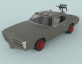 3D model Dart car from Mad Max II