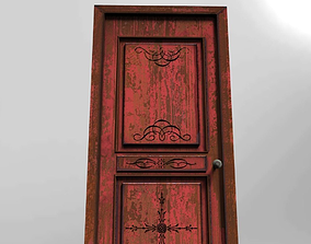 colored door 3D asset