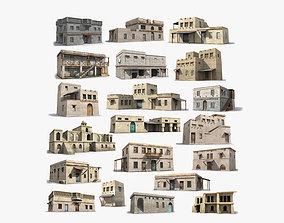 ramadan 20 Arab Collection Low-poly 3D model