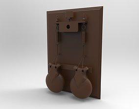3D print model locking mechanism