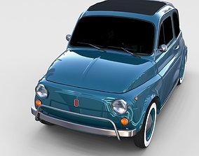 Fiat 1968 500L Luxe rev 3D