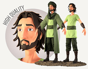 3D Muslim Arab Character