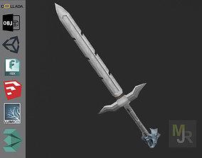 3D model Sword Elf 1