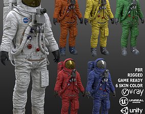 CS03 Space Suit 3D asset