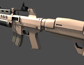 3D model Assault Rifle Sci-Fi