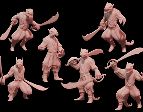 Pirate Kobolds 3D printable model