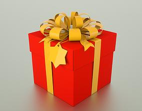 3D Gift Box xmas