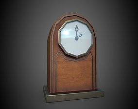 household Clock 3D asset realtime