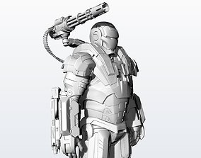 3D print model Statue War Machine Very High quality