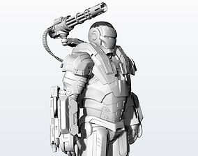 Statue War Machine Very High quality 3D printable model 1