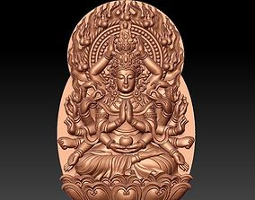 kwan-yin with thousands of hands 3D model