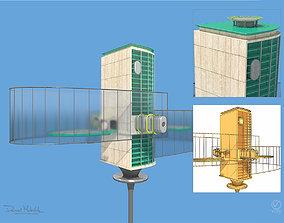Futuristic Architecture Skyscraper 06 3D model