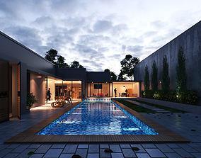 3D Modern Villa Design