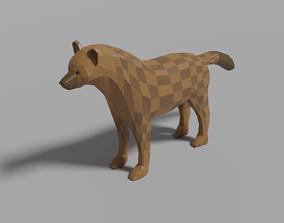 3D model Cartoon Hyena