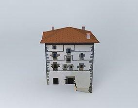 Hernialde Town Hall in Gipuzkoa -Spain- 3D model